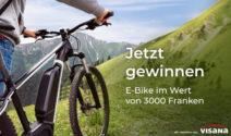 E-Bike im Wert von CHF 3000.- gewinnen!