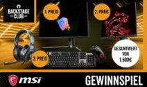 1 von 3 MSI Gamingsets im Gesamtwert von 1.500€ bei EMP gewinnen!